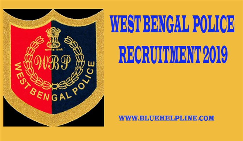 RECRUITMENT OF WEST BENGAL POLICE EXCISE CONSTABLE 2019